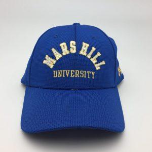 NIKE DRI-FIT BLACK WITH WHITE STRIPES POLO - Mars Hill University 616aa8e27