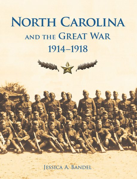 Cover of N.C. and the Great War book