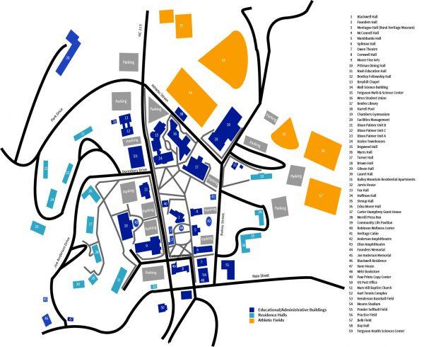 South Mountain Community College Campus Map.Where We Are Mars Hill University