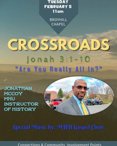 Crossroads - 5 Feb 2019
