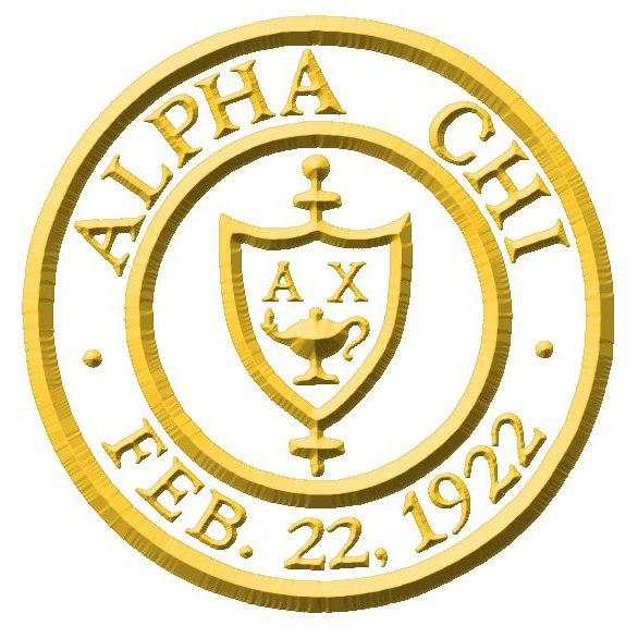 Alpha Chi seal