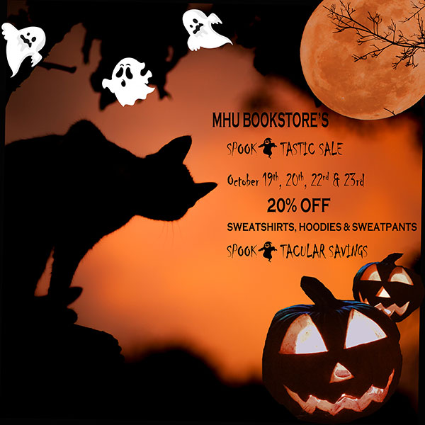 Bookstore Halloween Sale