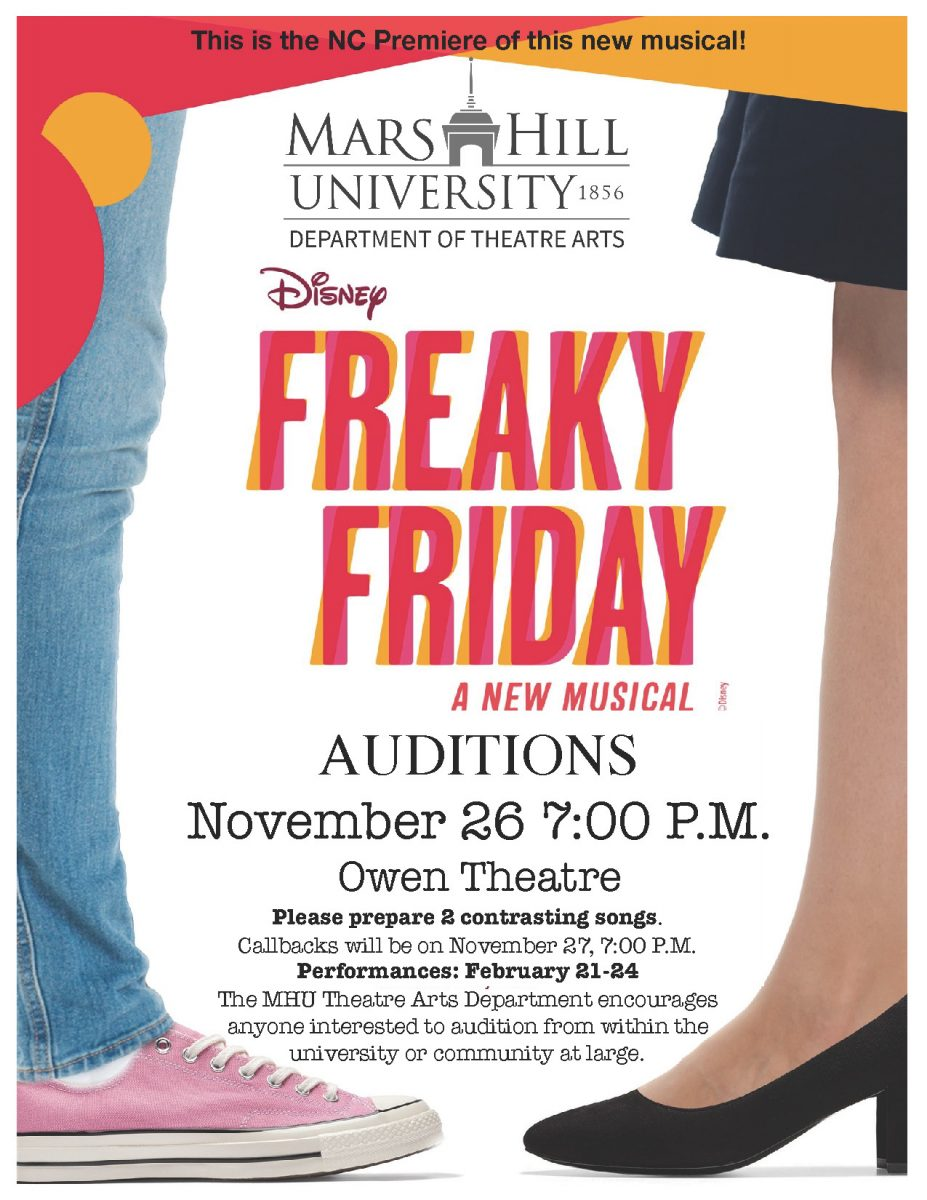 Freaky Friday Auditions