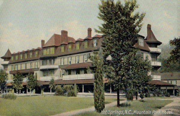 Mt Park Hotel Postcard
