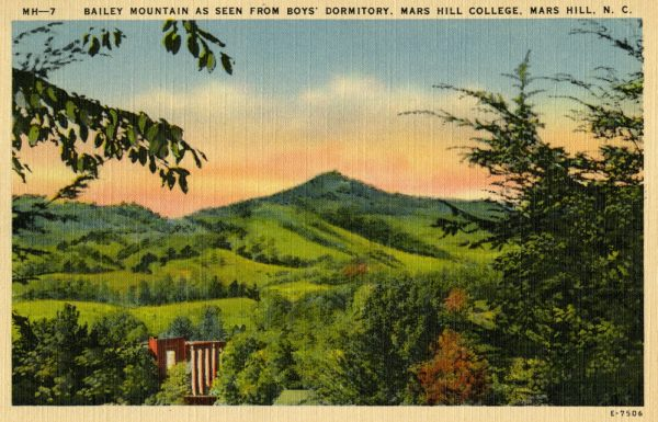 Old Postcard, Bailey Mountain