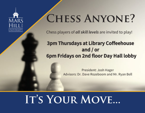 chess club flyer
