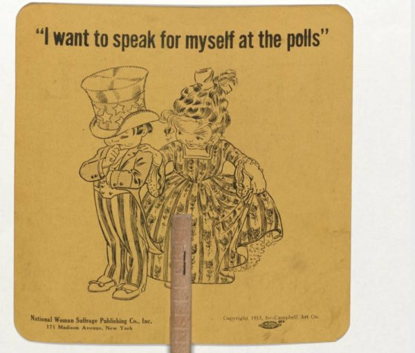 suffrage fan