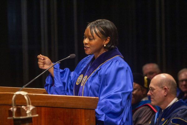 Terry Bellamy Urges Mars Hill University Graduates to Find Their Own Calcutta