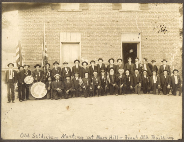 Mars Hill College Collection, Southern Appalachian Archives, Mars Hill University.